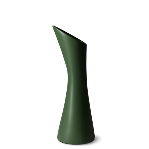 PROUD VASE WITHOUT HANDLE, LEAF GREEN