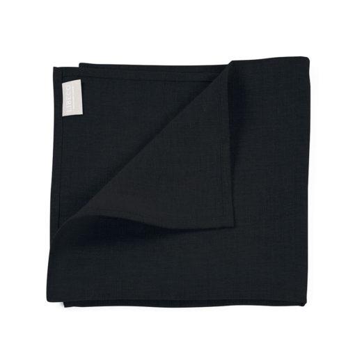 Polylin serviett, 47x47cm, Sulfur Black