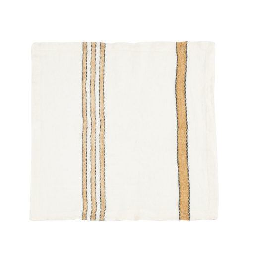 West Hinder serviett, 42x42cm, Wheat Stripe