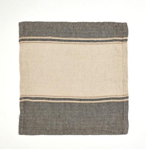 Thompson serviett, 50x50cm, Camel Stripe