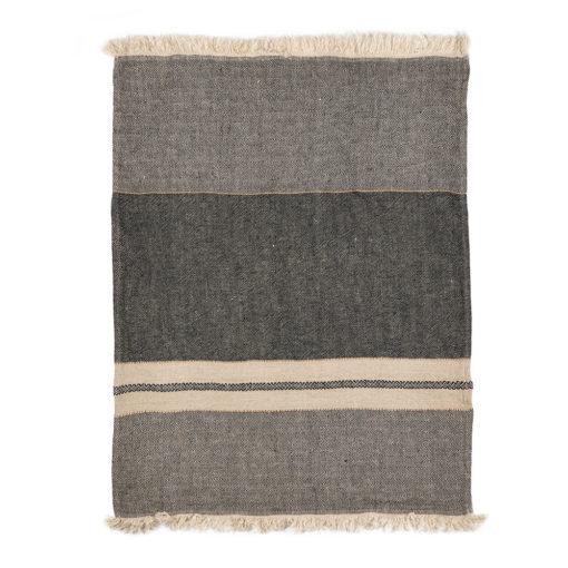 The Belgian towel 110x180cm, Tack stripe